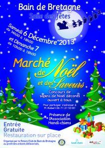 Marché de Noël - Affiche 2014