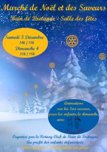 Marché de Noël - Affiche 2016